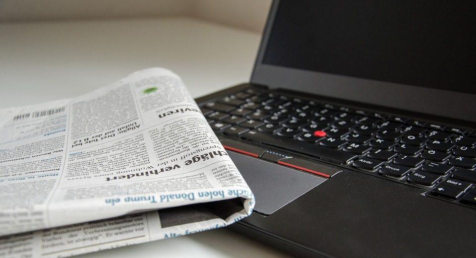 PC und Zeitung