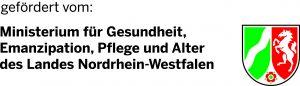 Logo Ministerium für Gesundheit, Emanzipation, Pflege und Alter des Landes Nordrhein-Westfalen